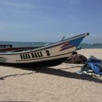 Fishing Boat Jimbaran Beach